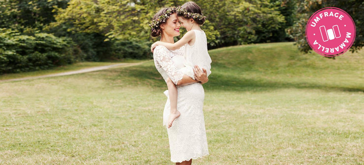 Kurzes oder langes Umstands-Brautkleid   Umfrage   Mamarella Blog