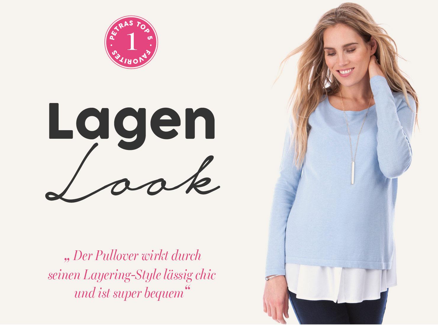 Tolle Umstandsmode: Umstands-und-still-pullover-1 im Lagenlook