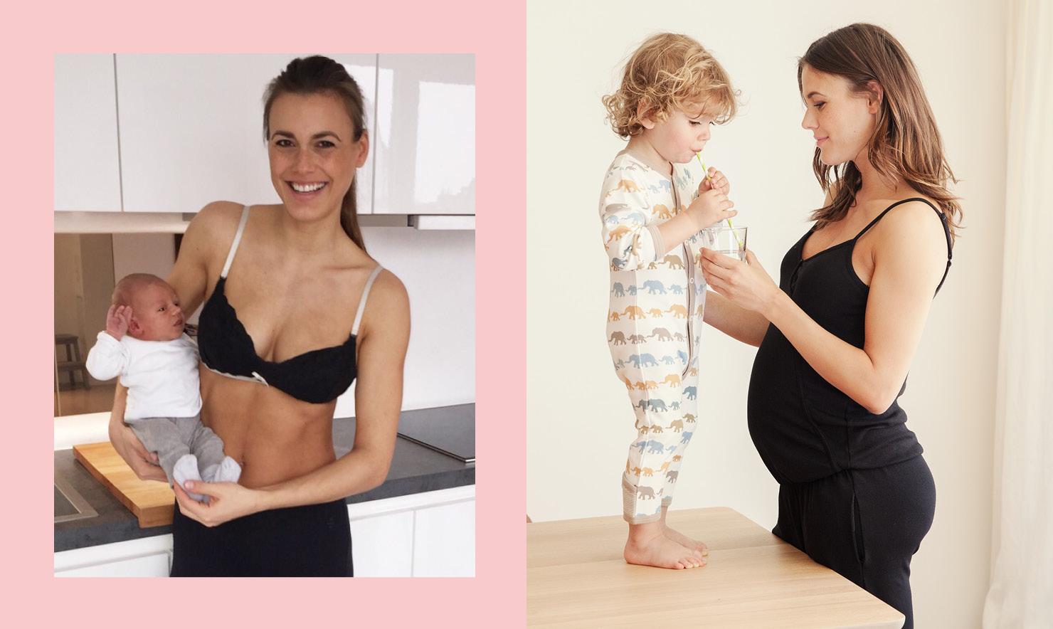 Working Mum und Mamarella Model Alena