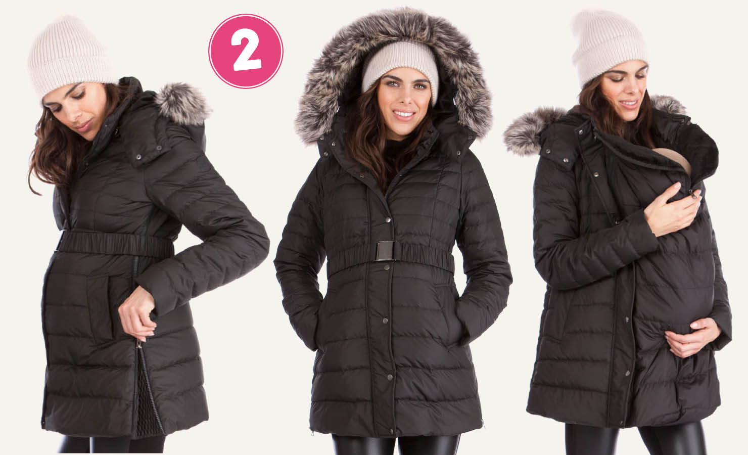 Winterjacke fur mutter und baby