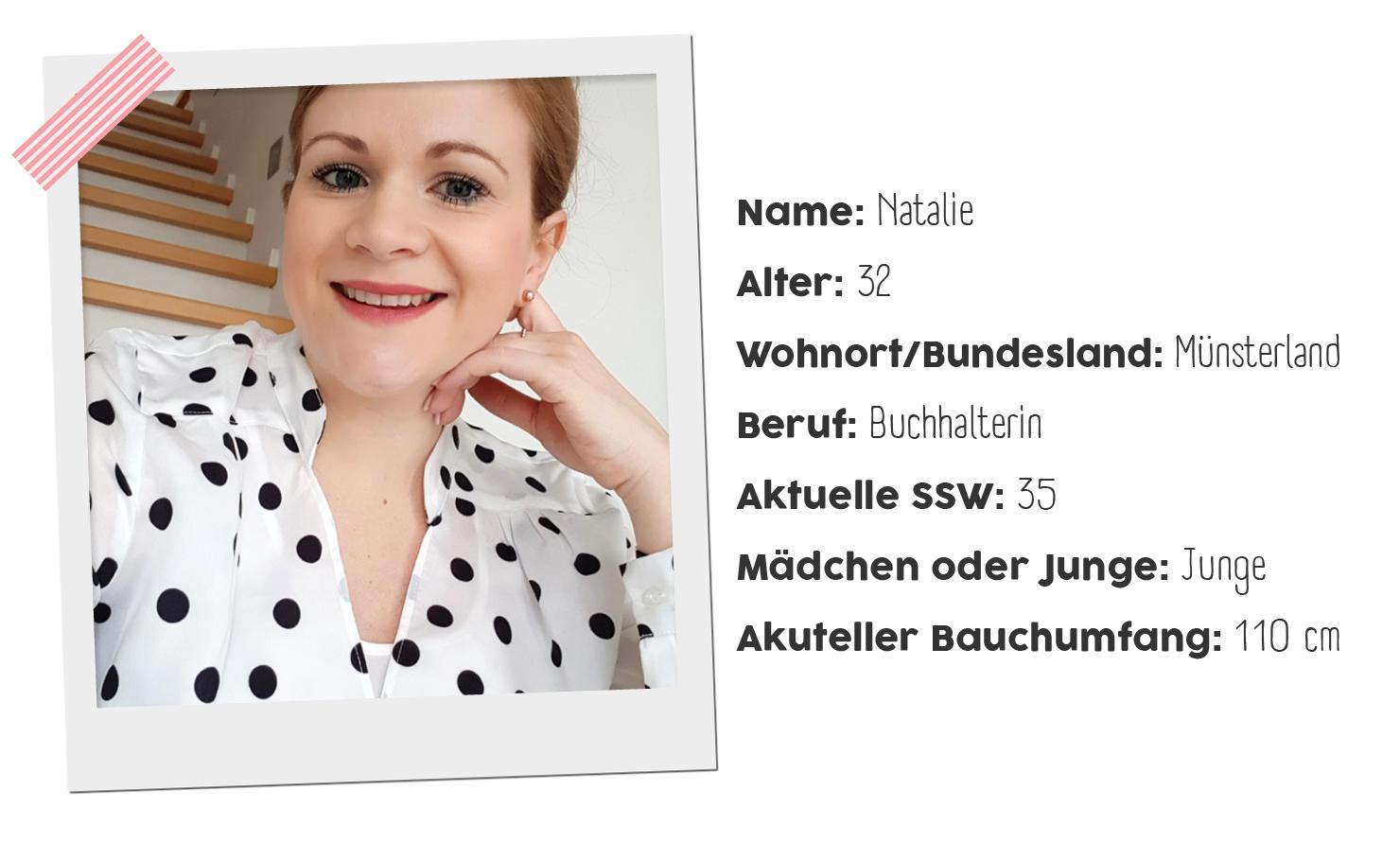 Drei verschiedene Outfitideen mit Umstandsbluse von Bloggerin Natalie
