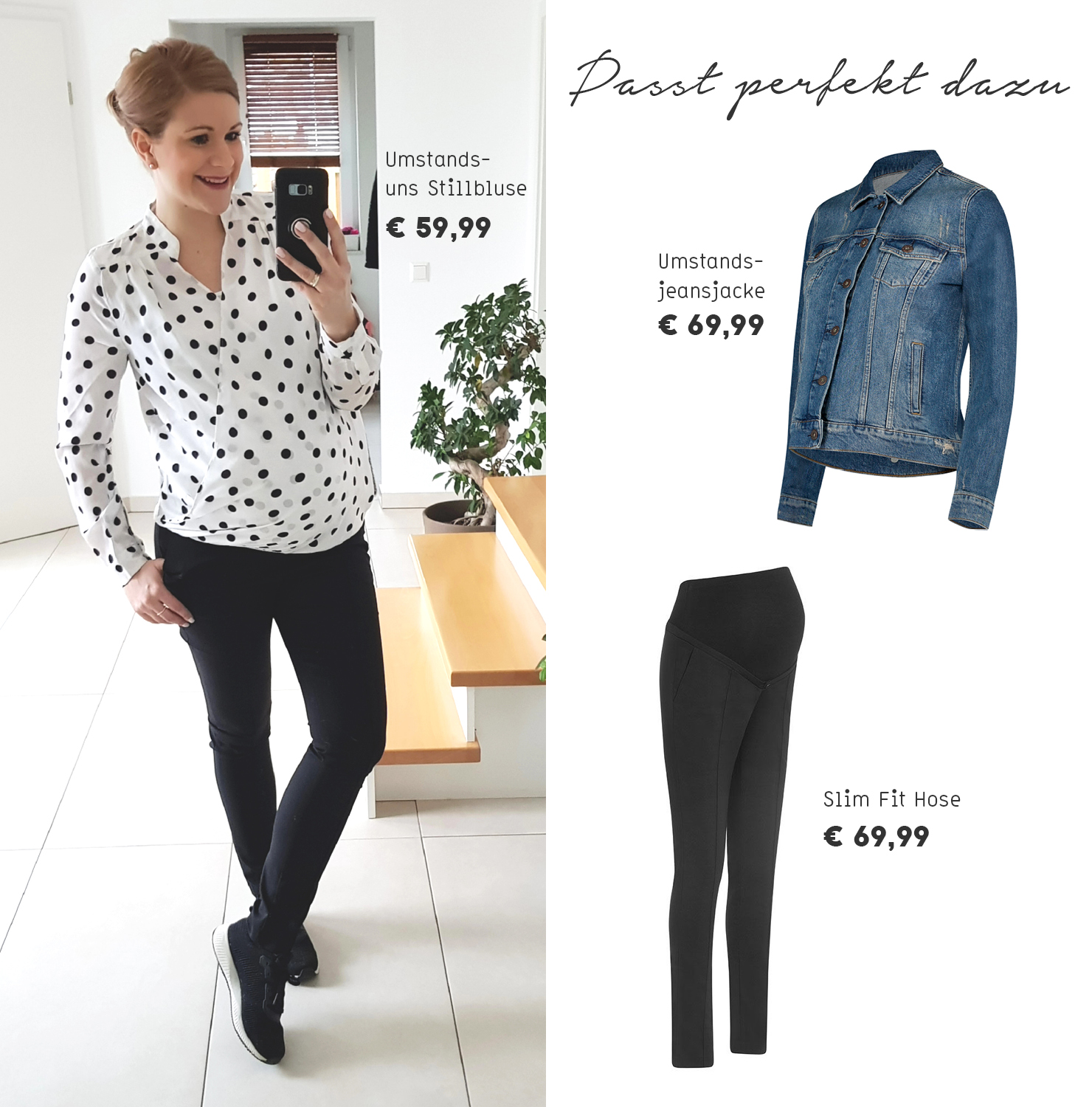 Umstandsmode Umstandsbluse Ideen Trends Outfit Drei nwk0OP