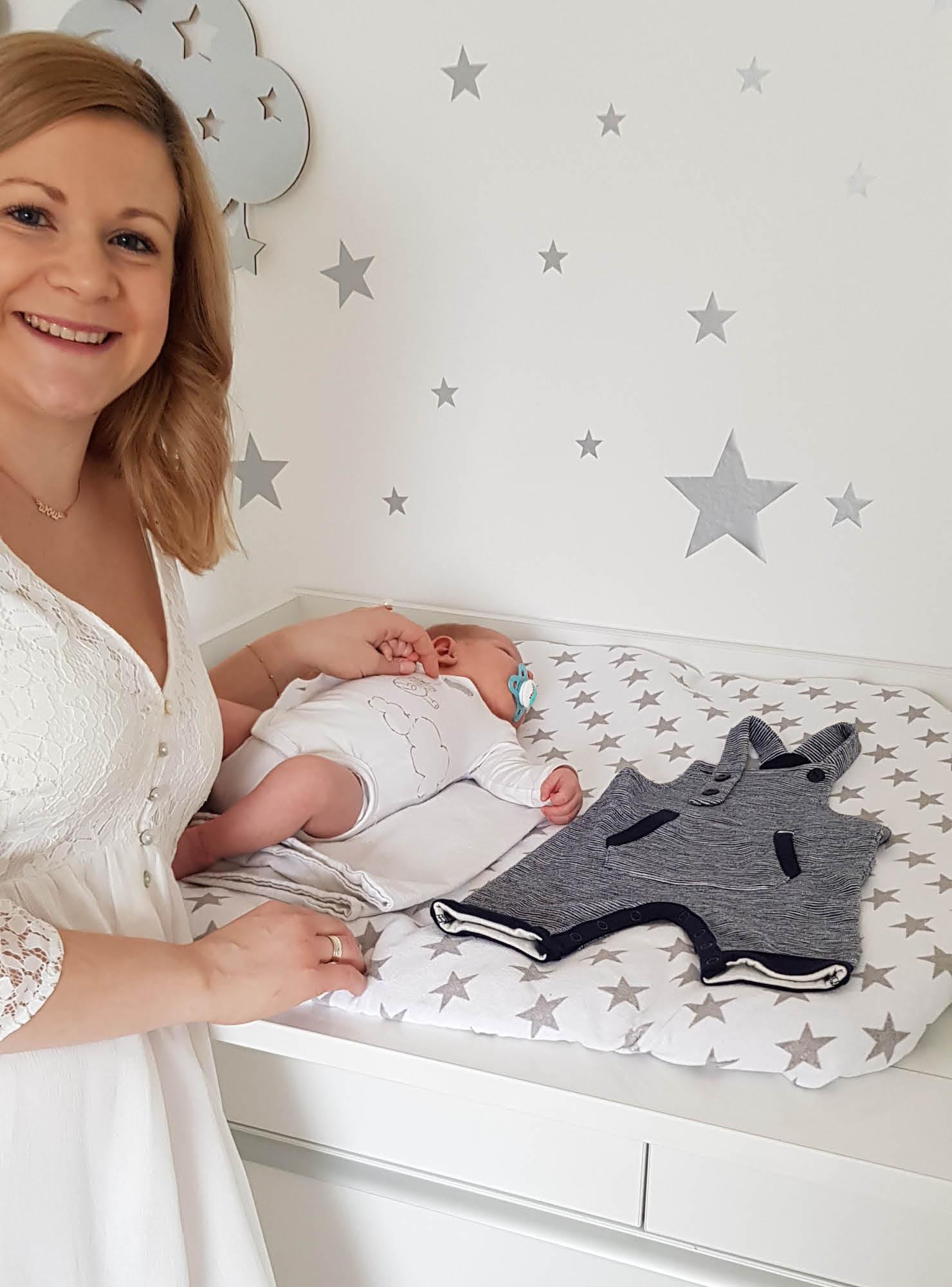 Its A Boy Erste Babykleidung Für Sohn Paul Mamarella Diary