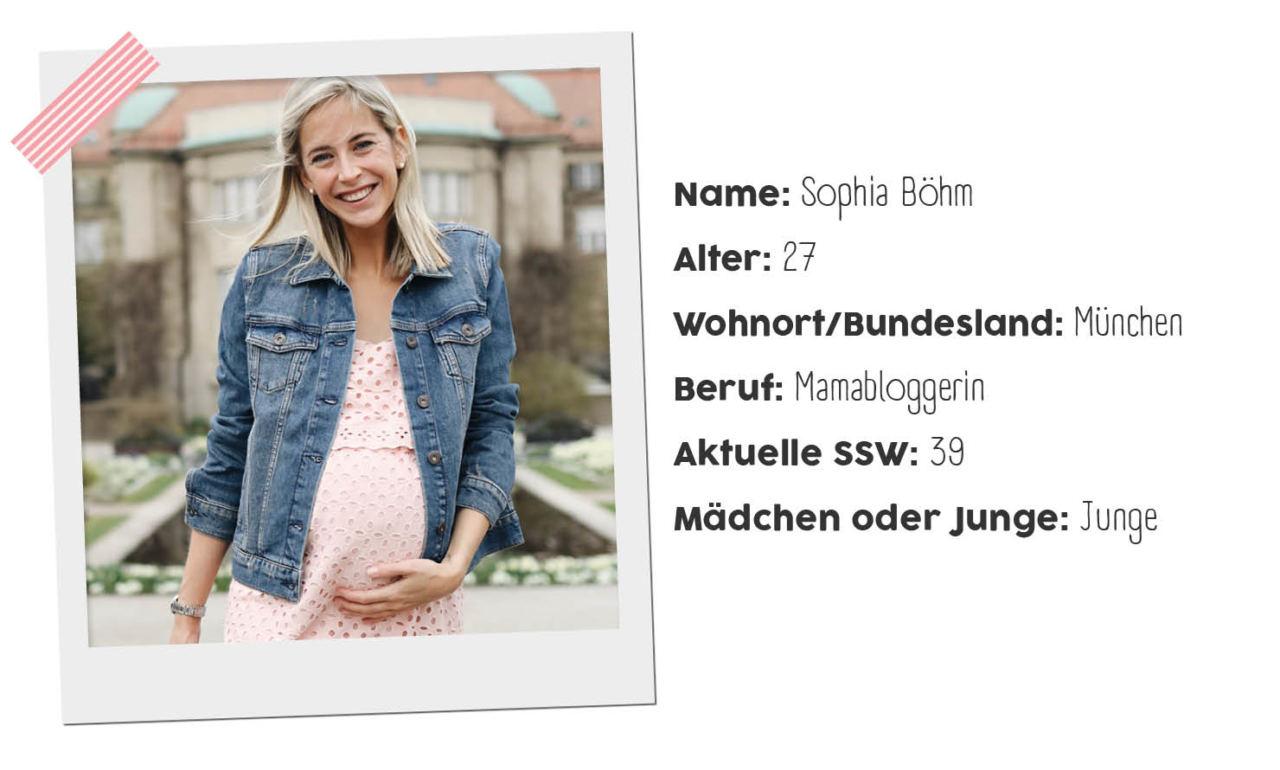 Sophia von Lifestyle Mom stylt ihr Umstandskleid für den Frühling