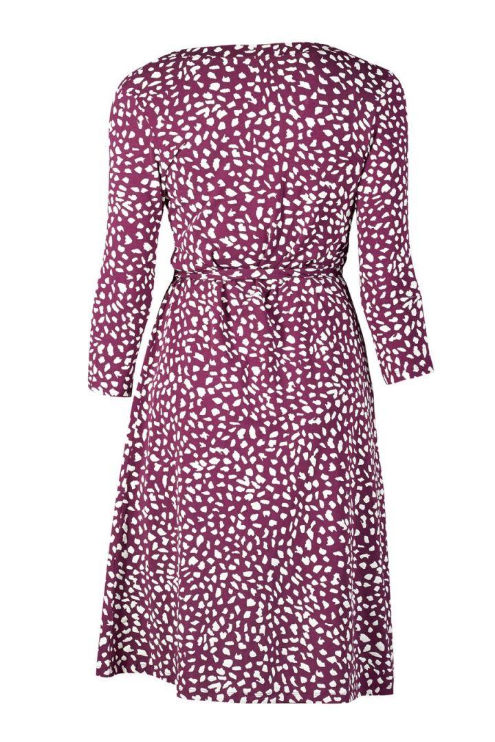 Carla Maternity and Nursing Wrap Dress