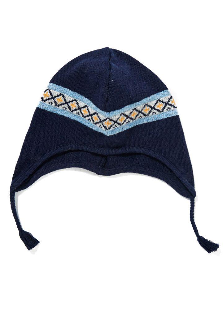 Hat in Norwegian design navy