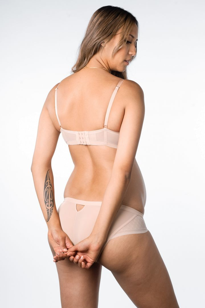 Plunge Maternity and Nursing Bra with Mehs Inserts skin