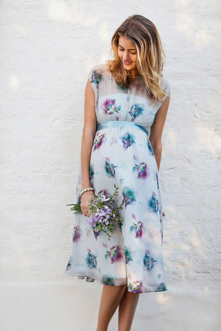 Umstandskleid Dusky Floral
