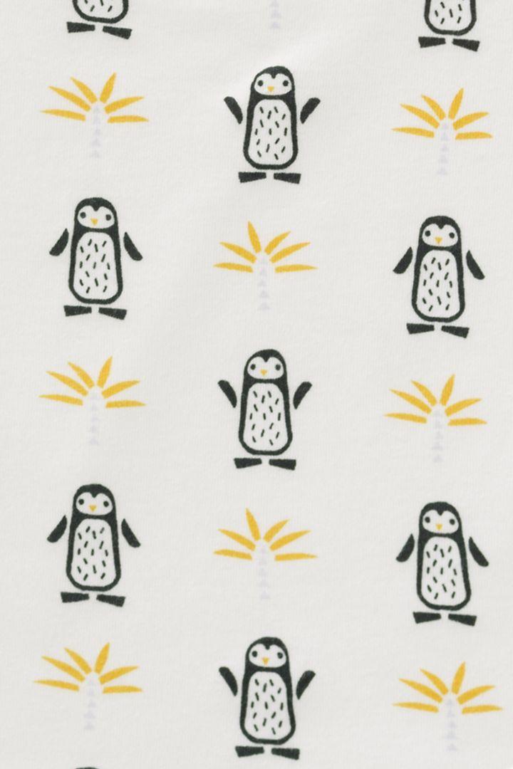 Organic Onesie Pinguin