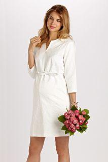 A-Line Kleid aus Jacquard