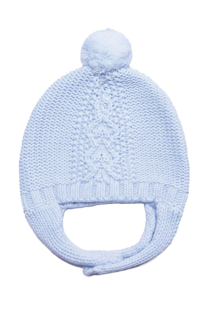 Chunky Pilot hat with bobble