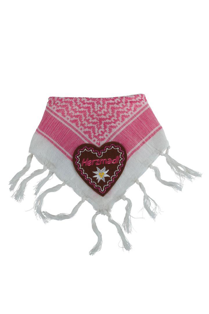 Traditional Sweetheart baby's neckerchief