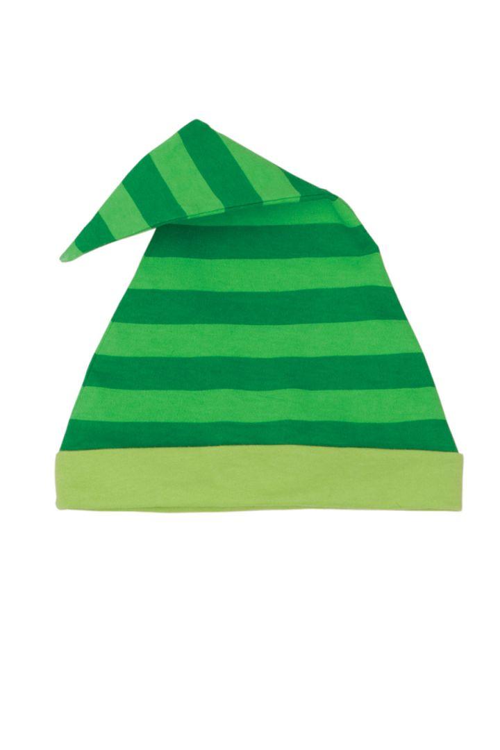 Elch Weihnachtsmütze grün