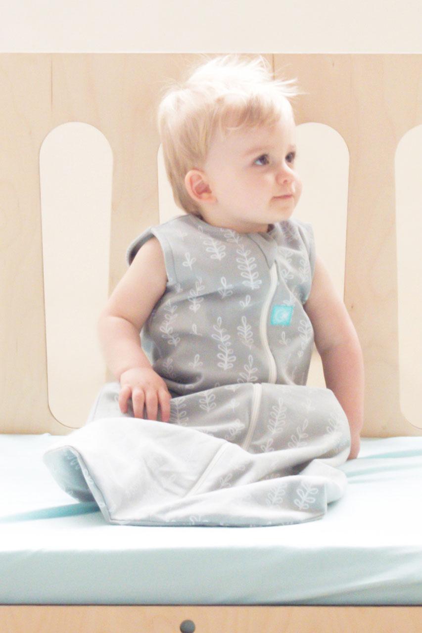 babyschlafsack aus bio baumwolle grau schlafs cke baby ausstattung baby mamarella. Black Bedroom Furniture Sets. Home Design Ideas