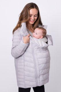 Light-Weight Umstandsjacke mit Babytrage Einsatz