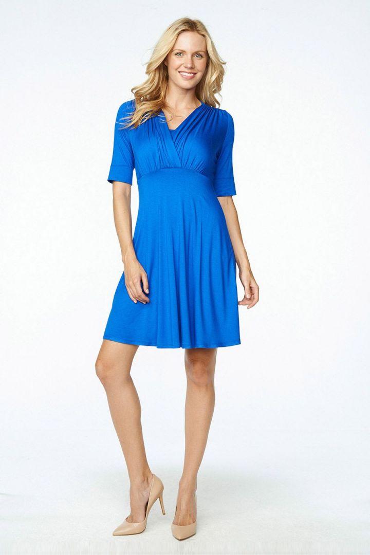 Tummy Slimming Nursing Dress Short Sleeve