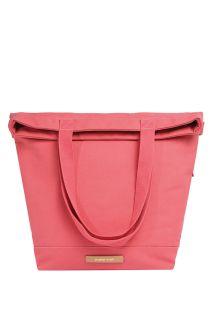 Wickeltasche und Rucksack Pink City