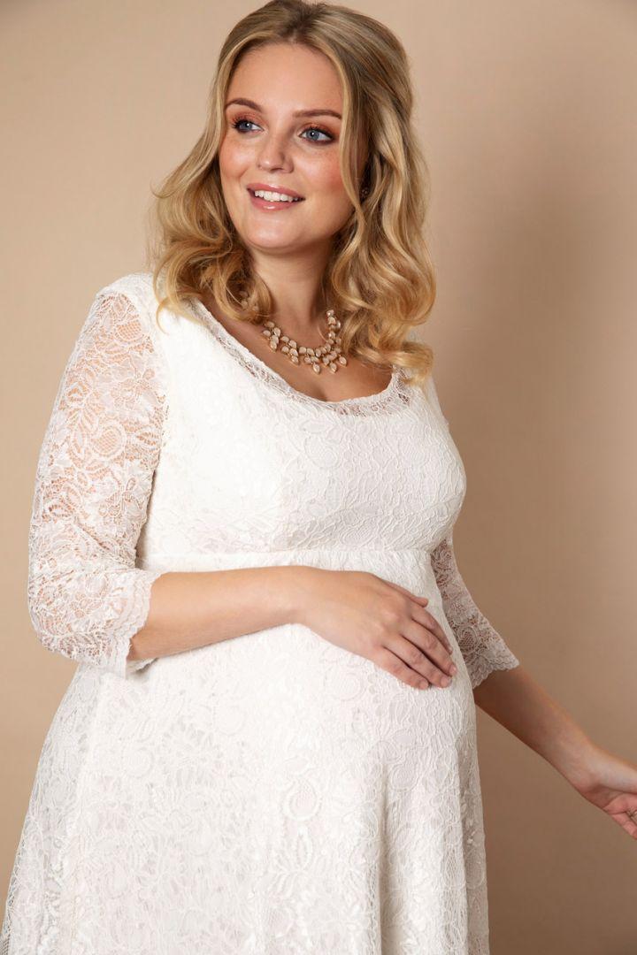 Plus Size maternity wedding dress Freya