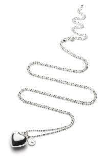Bola Klangkugel-Silberkette Herz