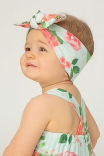 Haarband mit Rosenprint