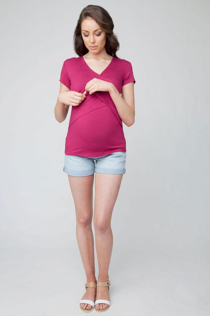 Embrace Umstands- und Still Shirt kurzarm