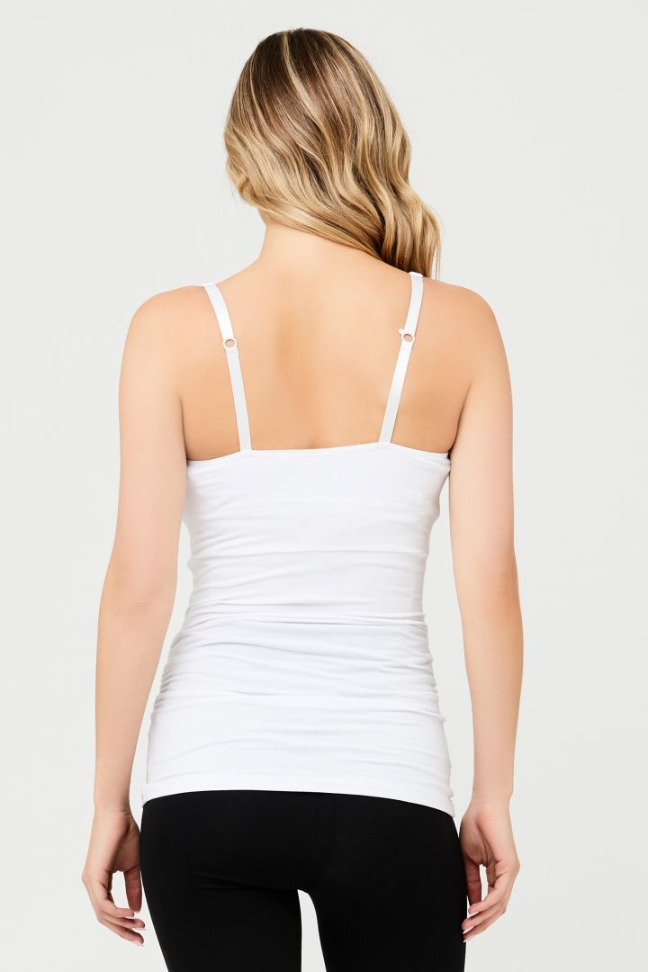 Maternity and Nursing Top white