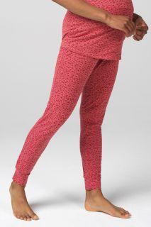 Umstandspyjama- und Lounge-Hose aus Bio-Baumwolle