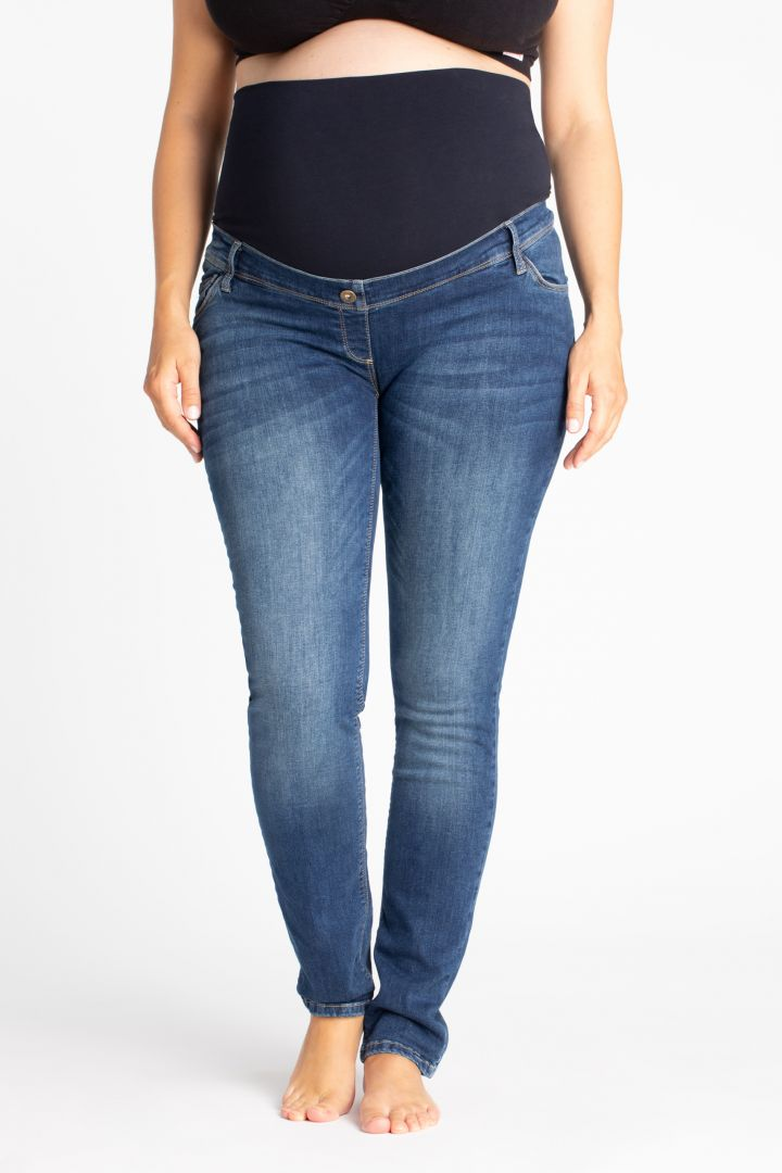 Skinny Maternity Jeans stone washed 32L