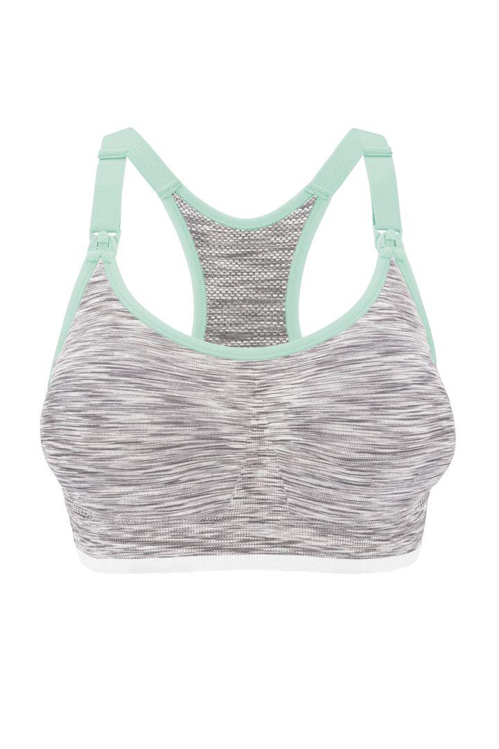 Body Silk Seamless Sport Still BH weiß/grau