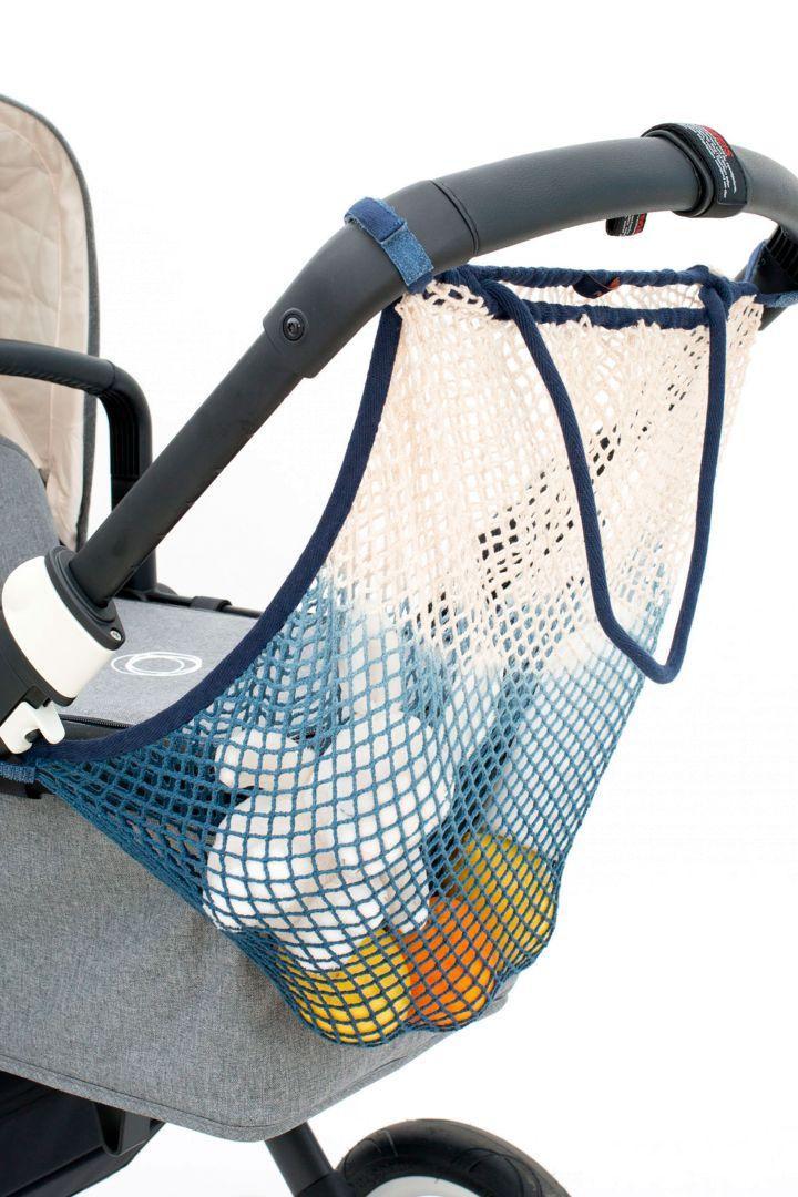 Dip Dye Kinderwagennetz deep ocean