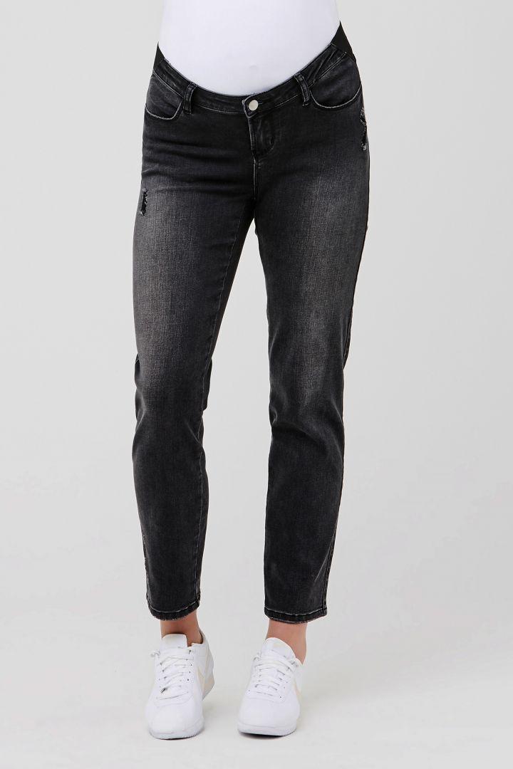 Maternity Jeans Distressed black