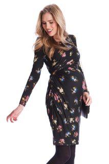 Umstands- und Still-Kleid mit Floral-Print