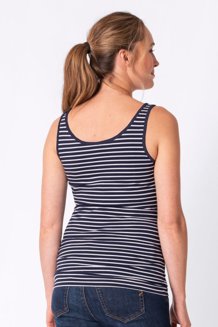 Maternity and Nursing Top in Bamboo Viscose