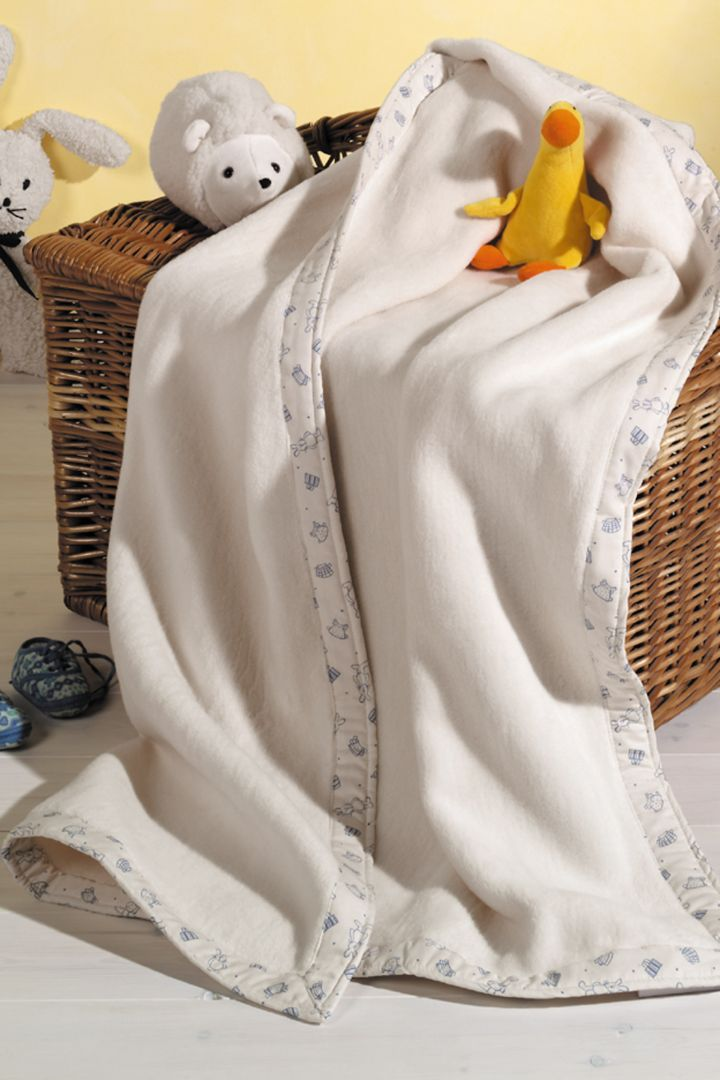 Babydecke aus Bio-Baumwolle Prolana