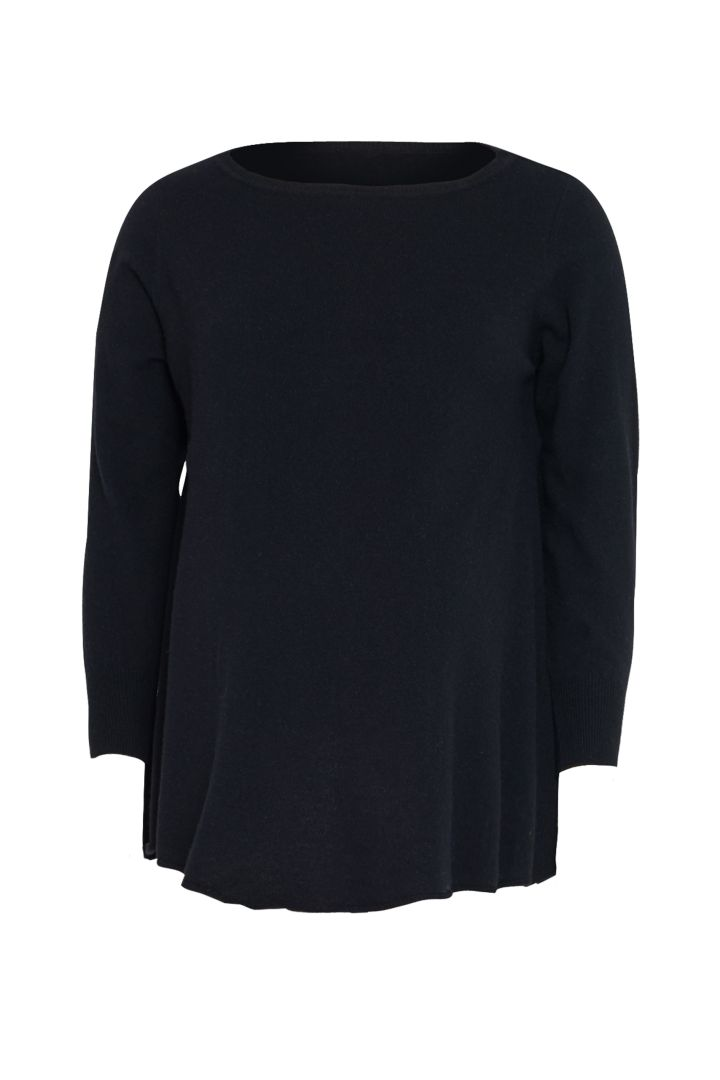 Maternity Knit Cashmere Pullover