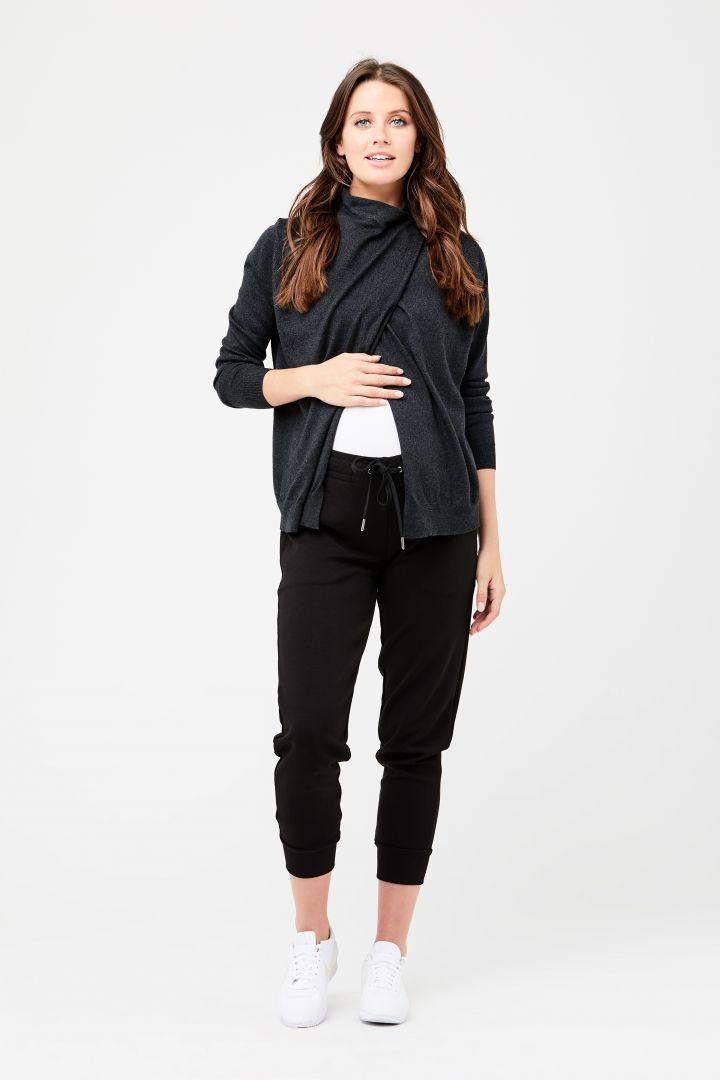Maternity Pyjama and Lounge Trousers black
