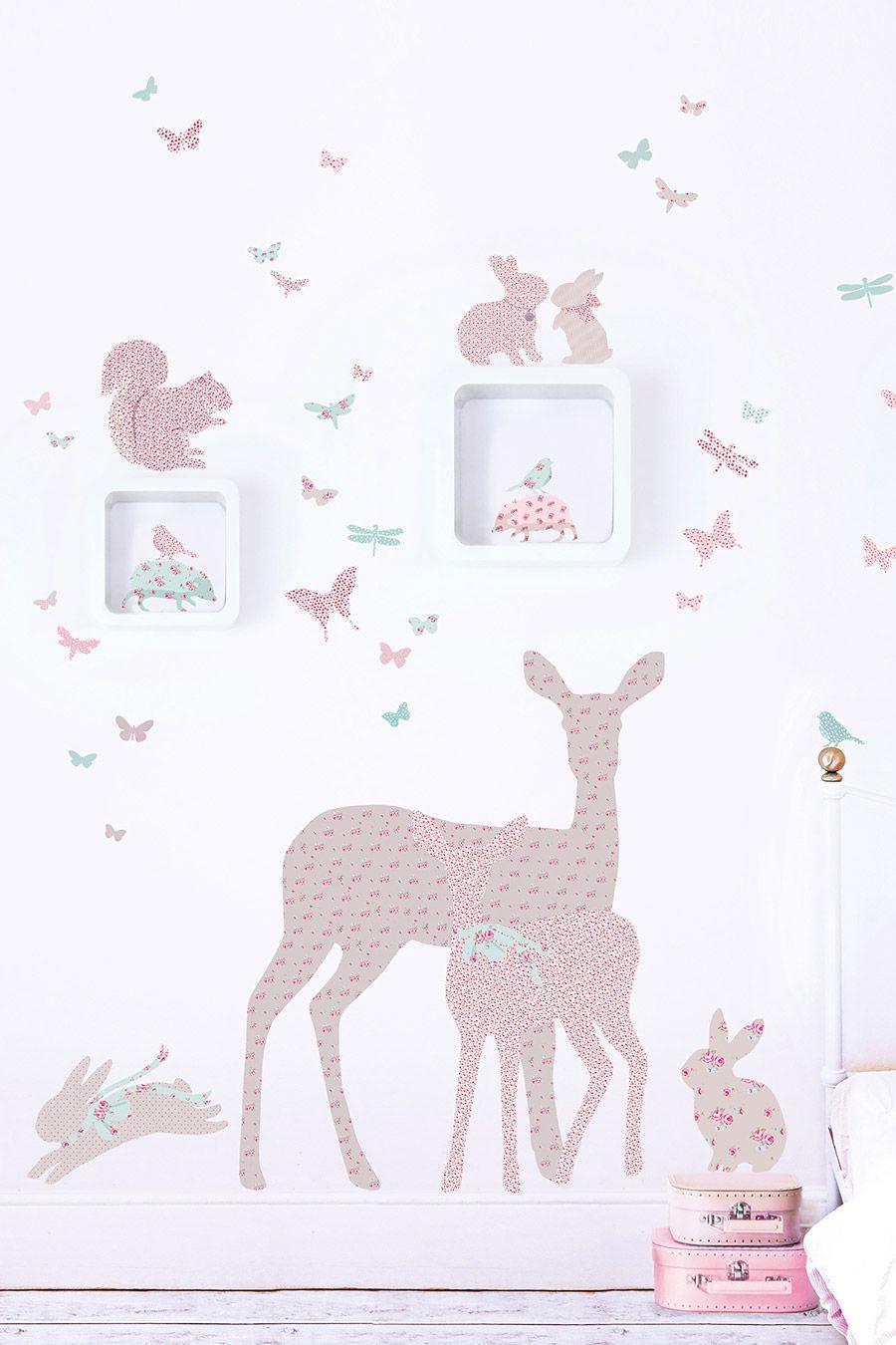 wandsticker fensterstricker f r babyzimmer mamarella. Black Bedroom Furniture Sets. Home Design Ideas