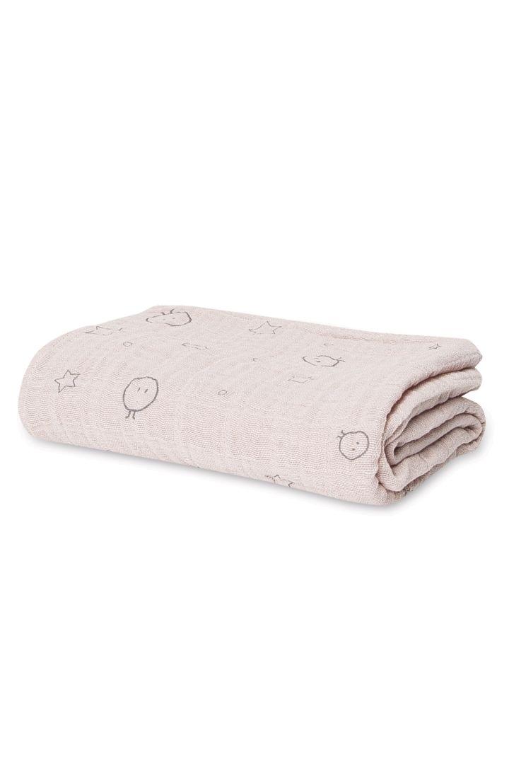 Puck- und Spucktuch rosa