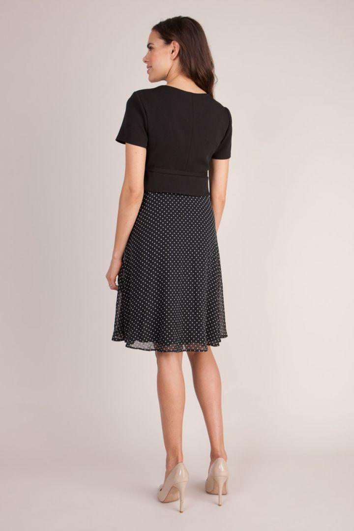 Jill Umstands- und Stillkleid schwarz