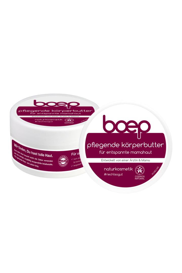 Organic body butter for relaxed mothers' skin, 125 ml