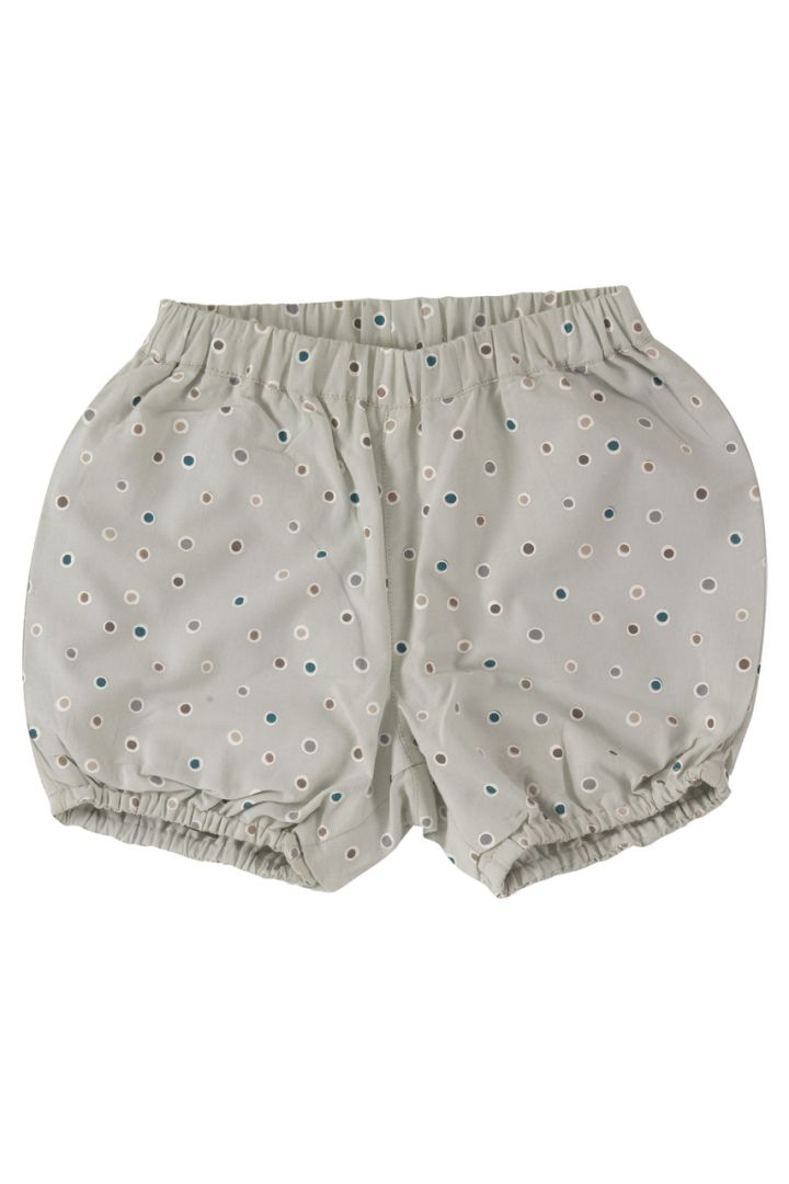Bloomer shorts with dots made of organic cotton