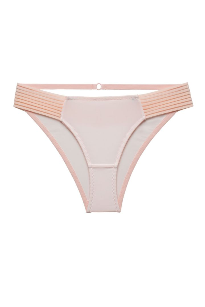 Maternity Briefs with Mesh Details pink