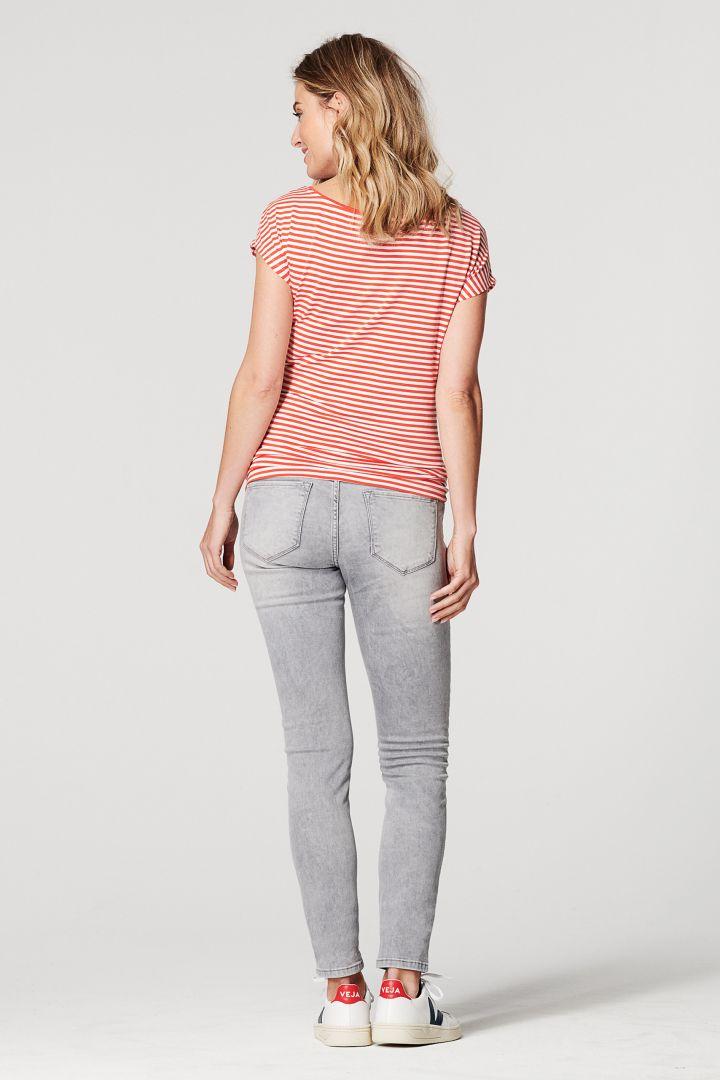 Umstandsshirt Multi-Stripe