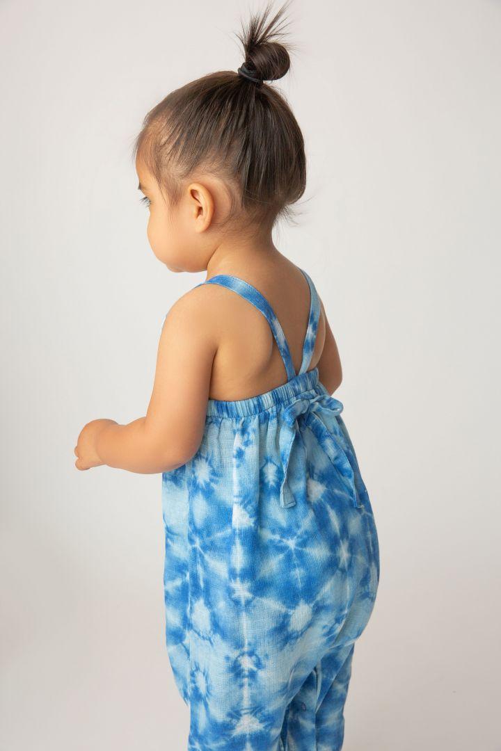 Tie Back Romper Batik