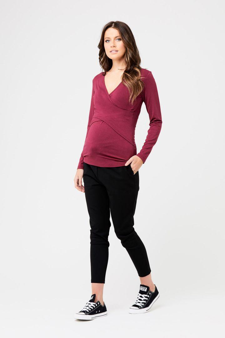 Embrace Umstands- und Stillshirt kirsche