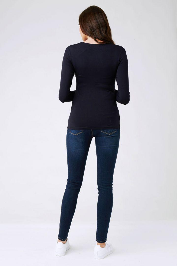 Embrace Umstands- und Still-Shirt navy