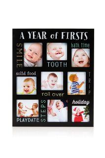 Kreidetafel Bilderrahmen für Babys erstes Jahr