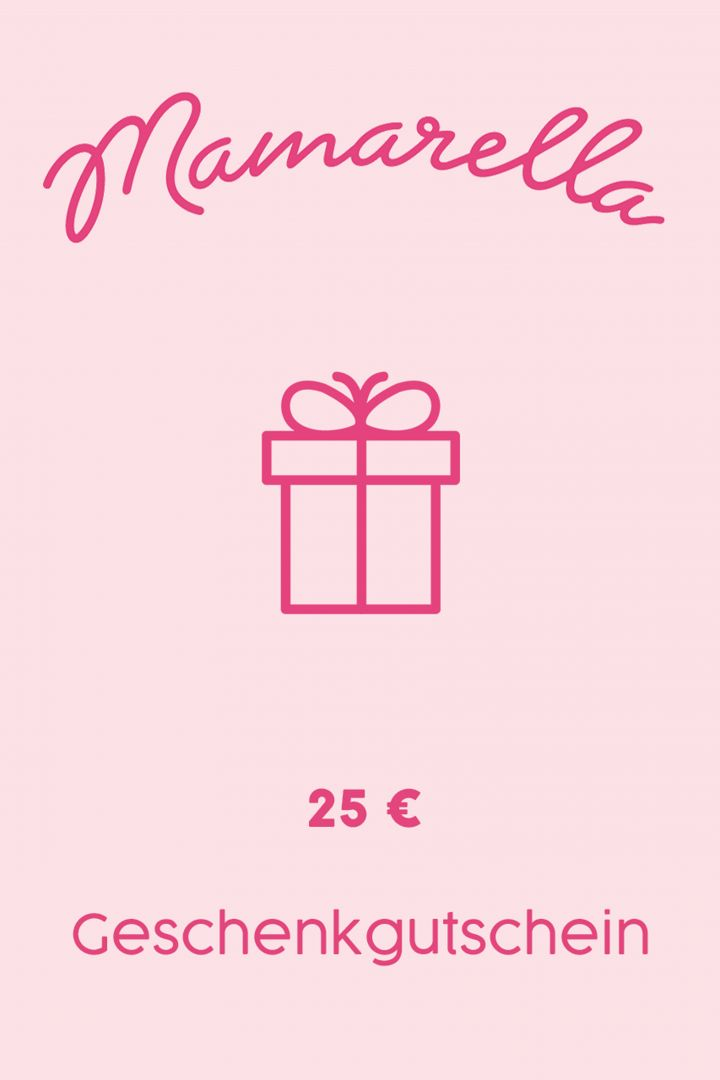 Geschenkgutschein Online 25 €