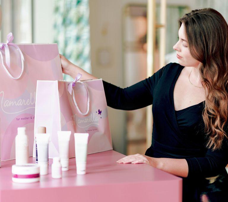 Organic skincare for mom & baby