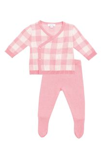 Take me home Set Gingham rosa